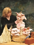 """Kategorie 20.10.2015 Puppenspiel """"Die 3 kleinen Schweinchen"""""""